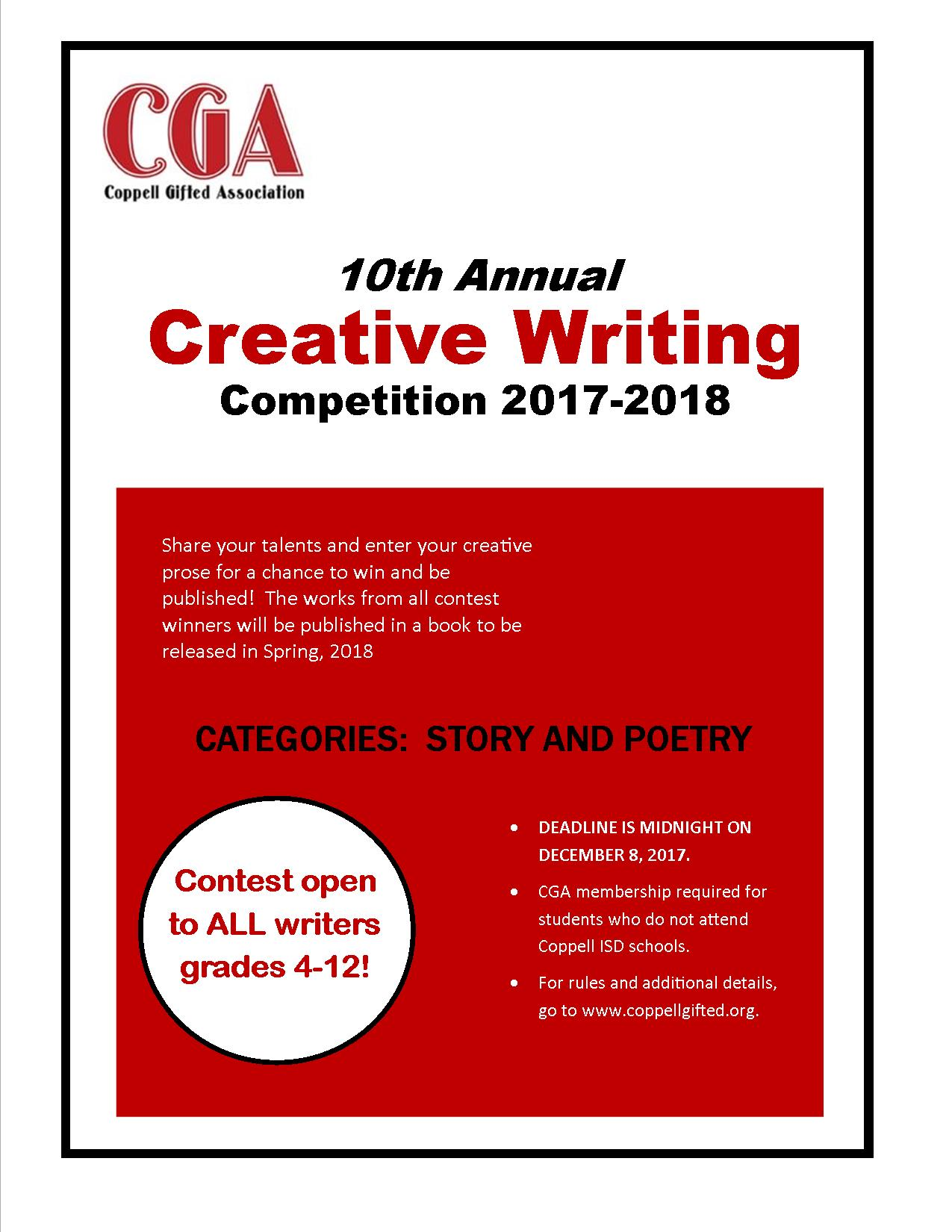 Essay writing competition for college students