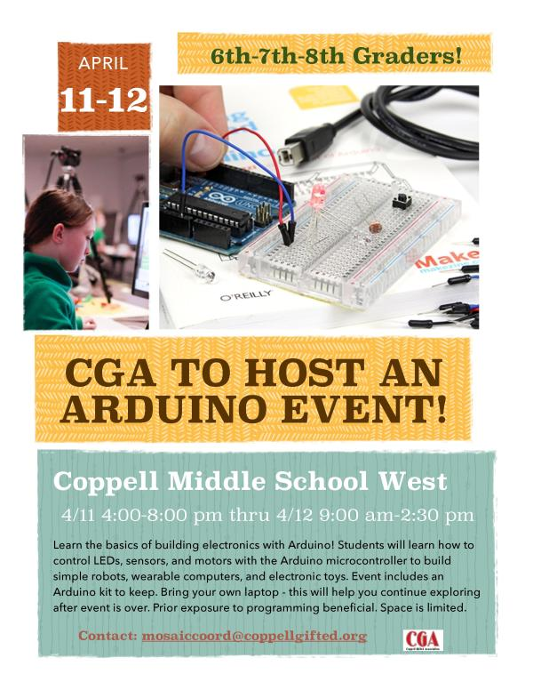 CGA Arduino Event